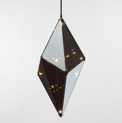 Glass Pendant Light - Horizontal