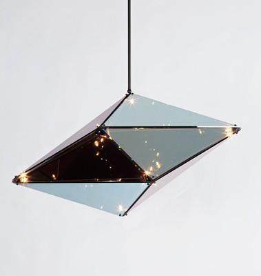 GLASS Pendant Light - Vertical